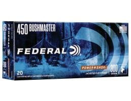 Federal 300 gr Non-Typical Soft Point .450 Ammo, 20/box - 450MDT1