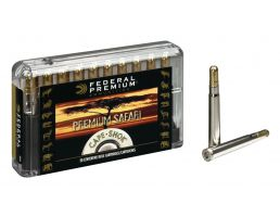 Federal Premium Safari Cape-Shok 500 gr Trophy Bonded Sledgehammer Solid .458 Win Mag Ammo, 20/box - P458T3