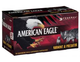 Federal American Eagle Varmint and Predator 90 gr Jacketed Hollow Point 6.8mm SPC Ammo, 50/box - AE6890VP