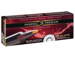 Federal Premium 160 gr Trophy Bonded Tip 7mm WSM Ammo, 20/box - P7WSMTT1