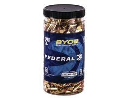 Federal BYOB 36 gr Copper-Plated Hollow Point .22lr Ammo, 450/box - 750BTL450