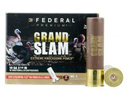 "Federal Premium Grand Slam 3.5"" 10 Gauge Ammo 5, 10/box - PFCX101F5"