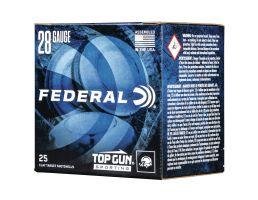 "Federal Top Gun Sporting 2.75"" 28 Gauge Ammo 8, 25/box - TGS28218"