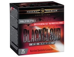 "Federal Black Cloud FS Steel 3.5"" 10 Gauge Ammo 2, 25/box - PWBX1072"