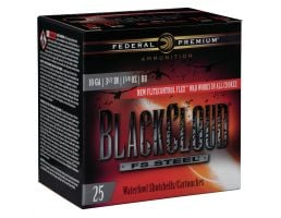 "Federal Black Cloud FS Steel 3.5"" 10 Gauge Ammo BB, 25/box - PWBX107BB"