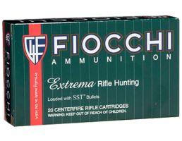 Fiocchi Extrema Rifle Line 95 gr SST Polymer Tip BT .243 Win Ammo, 20/box - 243HSB