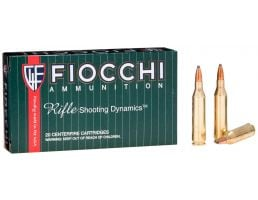 Fiocchi Shooting Dynamics 80 gr Barnes Tipped TSX .243 Win Ammo, 20/box - 243TTSX