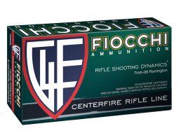 Fiocchi Rifle Shooting Dynamics 139 gr Boat Tail Soft Point Interlock 7mm-08 Rem Ammo, 20/box - 7MM08B