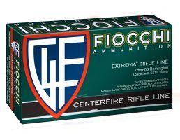 Fiocchi Extrema Rifle Line 139 gr SST Polymer Tip BT 7mm-08 Rem Ammo, 20/box - 7MM08HSA