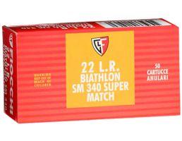 Fiocchi Exacta Super Match 40 gr Round Nose .22lr Ammo, 50/box - 22SM340