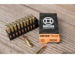 Gemtech 208 gr Polymer Tip .300 Blackout Ammo, 20/box - 3010163
