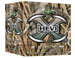 "Hevi-Shot Hevi-X Mossy Oak Shadow Grass Blades 3"" 20 Gauge Ammo 6, 25 Rounds - 52366"