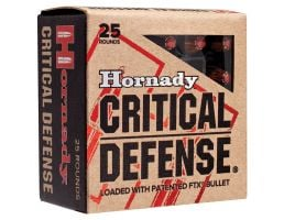 Hornady Critical Defense 60 gr Flex Tip Expanding .32 ACP Ammo, 25/box - 90063