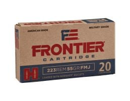 Hornady Frontier 55 gr Full Metal Jacket .223 Rem Ammo, 20/box - FR100