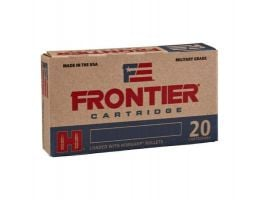Hornady Frontier 55 gr Hollow Point Match 5.56 Ammo, 20/box - FR240