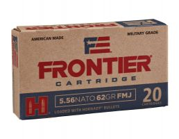 Hornady Frontier 62 gr Full Metal Jacket 5.56 Ammo, 20/box - FR260