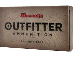 Hornady Outfitter 165 gr GMX - Copper Alloy Expanding .308 Win Ammo, 20/box - 80986