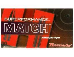 Hornady Superformance Match 168 gr ELD-Match .308 Win Ammo, 20/box - 80963