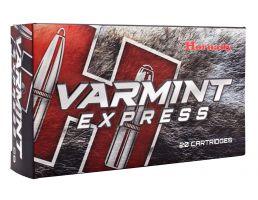 Hornady Varmint Express 60 gr V-Max Polymer Tip .224 Valkyrie Ammo, 20/box - 81531