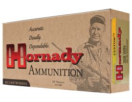 Hornady Custom 200 gr SP Interlock .358 Win Ammo, 20/box - 91318