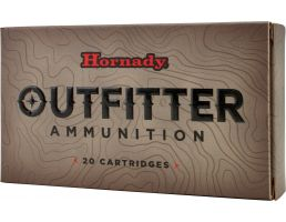 Hornady Outfitter 250 gr GMX - Copper Alloy Expanding .375 Ruger Ammo, 20/box - 82337