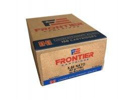 Hornady Frontier 62 gr Full Metal Jacket 5.56 Ammo, 150/box - FR2615