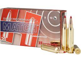 Hornady Superformance Match 73 gr ELD-Match 5.56 Ammo, 20/box - 81268