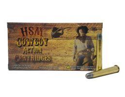 HSM Ammunition Cowboy Action 170 gr Hard Lead Round Nose Flat Point .32-40 Win Ammo, 20/box - HSM-32-40-2-N