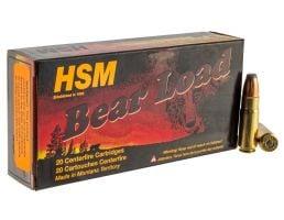 HSM Ammunition Bear Load 350 gr Jacketed Soft Point .458 Socom Ammo, 20/box - HSM-458Socom-1-N