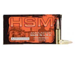 HSM Ammunition Low Recoil 140 gr 6.5 Crd Ammo, 20/box - 65CRD2N