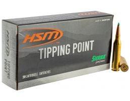 HSM Ammunition Tipping Point 130 gr GameChanger 6.5 Crd Ammo, 20/box - HSM-65Creedmoor-4-N