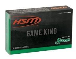 HSM Ammunition Game King 175 gr Pro-Hunter 8mm Mauser Ammo, 20/box - HSM-8Mauser-1-N