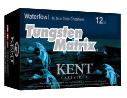 "Kent Cartridge Tungsten Matrix 2.75"" 12 Gauge Ammo 3, 10/box - C122NT363"
