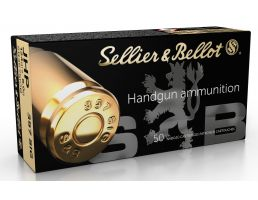 Sellier & Bellot 124 gr Jacketed Hollow Point .357 Sig Ammo, 50/box - SB357SIGB