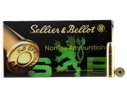 Sellier & Bellot 158 gr Total Full Metal Jacket .38 Spl Ammo, 50/box - SB38NT