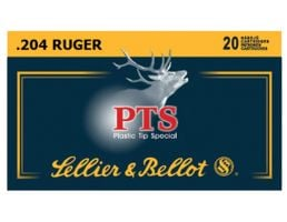 Sellier & Bellot 32 gr Plastic Tip Special .204 Ruger Ammo | SB204A