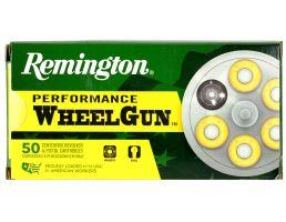 Remington Performance WheelGun 158 gr Lead Round Nose .38 Spl Ammo, 50/box - RPW38S5