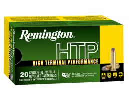 Remington HTP 125 gr Semi-Jacketed Hollow Point .38 Spl +P Ammo, 20/box - RTP38S21A