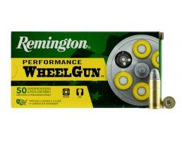 Remington Performance WheelGun 246 gr Lead Round Nose .44 S&W Spl Ammo, 50/box - RPW44SW
