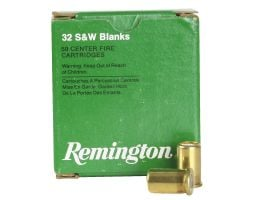 Remington Blank .32 S&W Ammo, 50/box - R32BLNK