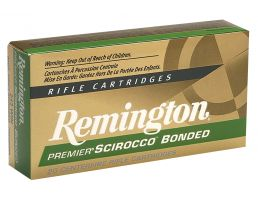 Remington Premier 90 gr Swift Scirocco Bonded .243 Win Ammo, 20/box - PRSC243WA