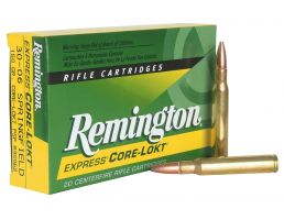 Remington Core-Lokt 180 gr Pointed Soft Point .300 Weatherby Mag Ammo, 20/box - R300WB1
