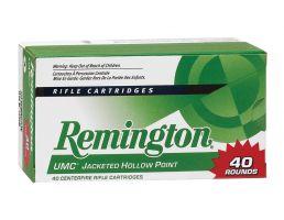 Remington UMC 150 gr Full Metal Jacket .308 Win Ammo, 40/box - L308W4B
