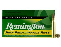 Remington High Performance 50 gr Pointed Soft Point .220 Swift Ammo, 20/box - R220S1