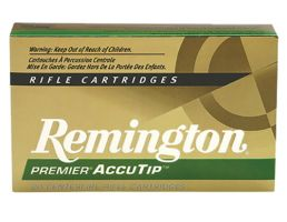 Remington Premier 50 gr AccuTip-V Boat Tail .222 Rem Ammo, 20/box - PRA222RB