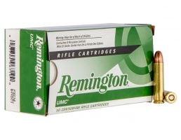 Remington UMC 110 gr Full Metal Jacket .30 Ammo, 50/box - L30CR1