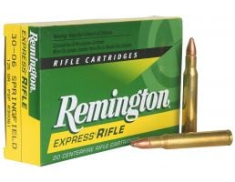 Remington Core-Lokt 125 gr Pointed Soft Point .30-06 Spfld Ammo, 20/box - R30061