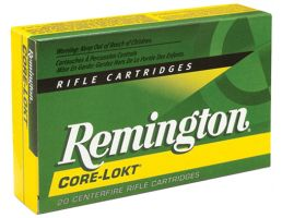 Remington Core-Lokt 250 gr Pointed Soft Point .338 RUM Ammo, 20/box - PR338UM2