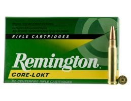Remington Core-Lokt 250 gr Pointed Soft Point .308 Win Mag Ammo, 20/box - R338W2