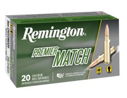 Remington Premier 112 gr Barnes Open Tip Match Boat Tail 6mm Crd Ammo, 20/box - RM6CM01